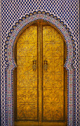 Arab King Posters - Golden door Poster by Ivan Slosar