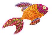 Aleksandr Volkov - Golden Fish from flowers
