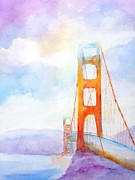 Suspension Paintings - Golden Gate Bridge 2 by Carlin Blahnik
