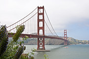 Scenic Art - Golden Gate Bridge 3 by Shane Kelly