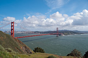 Landscape Photograpy Posters - Golden Gate Bridge Poster by Bruce Gourley