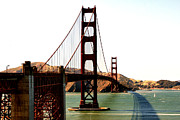 Bridge Prints - Golden Gate Bridge Print by Cedric Darrigrand