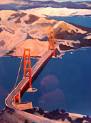 Bridge Sculpture Originals - Golden Gate Bridge by Craig Palmedo