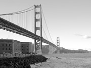 Bay Bridge Photos - Golden Gate Bridge by Daniel Hagerman