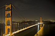 Golden Gate Art - Golden Gate Bridge from Marin Headlands 7 by SC Heffner