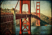 Golden Gate Art - Golden Gate Bridge by Kelly Simpson