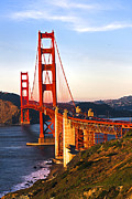 San Francisco Cali Prints - Golden Gate Bridge  Print by Paul Madura