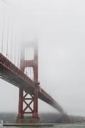 Adam Romanowicz - Golden Gate Bridge Shrouded in Fog