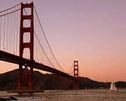 Jeff Lowe - Golden Gate Bridge Sunset