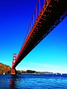 San Francisco Cali Posters - Golden Gate Bridge Poster by Vannucci Fine Art