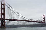 Sausalito Prints - Golden Gate by the Bay Print by David Bearden