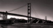 The Golden Gate Prints - Golden Gate Dusk Print by Daniel Hagerman