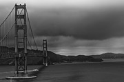 Engineering Framed Prints - Golden Gate I Framed Print by Erik Brede