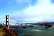 Randall Branham - Golden Gate in Fog