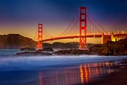 Golden Gate Print by Jeana Childress