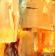 Vivian ANDERSON - Golden Glow Abstract...