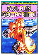 Albatross Digital Art Posters - Golden Goonybird Poster by Olaf Del Gaizo