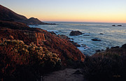 Central Coast Photos - Golden Hour on Garrapata by Kathy Yates