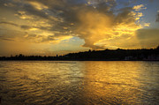 Ganga Photos - Golden Hours - Rishieksh by Rohit Chawla