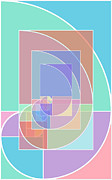 Symmetry Originals - Golden Ratio Abstract by Tony Rubino