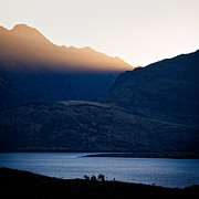 New Zealand Prints - Golden Rays Print by David Bowman