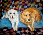 Frances Gillotti - Golden retrievers