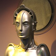 Cynthia Snyder - Golden Robot Lady Closeup