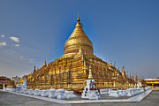 Civilizations Originals - Golden Shwezigon Pagoda by Juergen Ritterbach