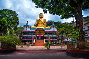 Ceylon Framed Prints - Golden Temple in Dambulla 2. Sri Lanka Framed Print by Jenny Rainbow