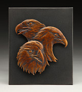 Eagle Reliefs Originals - Golden Triangle by Deb Jenkins