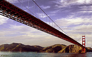 Goldengate Bridge San Francisco Print by Nadine and Bob Johnston