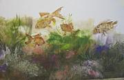Goldfish Print by Nancy Gorr