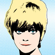 Goldie Hawn Posters - Goldie 2 Poster by David Krajecki
