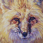 North American Wildlife Painting Posters - Goldie Poster by Patricia A Griffin