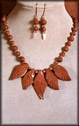 Cameo Jewelry - Goldstone by Jan  Brieger-Scranton