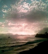 Mary Mora - Goleta Beach at Suns...