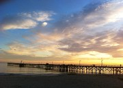 Mary Mora - Goleta Pier at Sunse...