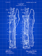 Golf Club Prints - Golf Bag Patent Print by Stephen Younts