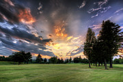 John Swartz - Golf Course Sunset