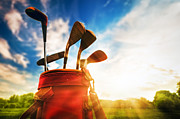 Golf Equipment  Print by Michal Bednarek