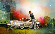 Sports Mixed Media - Golf in Gut Laerchehof Germany 03 by Miki De Goodaboom