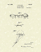 Golf Drawings Posters - Golf Swing Corrector 1928 Patent Art Poster by Prior Art Design