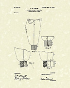 Pants Drawings Posters - Golf Trousers 1899 Patent Art Poster by Prior Art Design