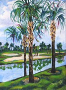 Jan Bennicoff - Golfing in Florida