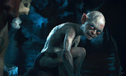 Lord Of The Rings Digital Art Posters - Gollum Poster by Paul Tagliamonte