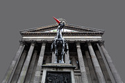 Colorful Art Photos - GOMA Glasgow Pop Art Grey by John Farnan