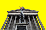 Colorful Art Photos - Goma pop art yellow by John Farnan