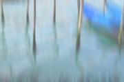 Dreamy Prints - Gondola poles Print by Marion Galt