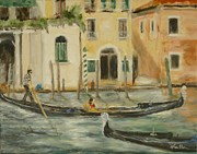 Veronica Coulston - Gondolas Passing
