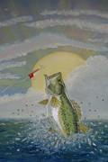 Gone Fishing Print by Scott Phillips